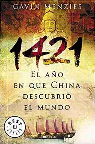 Libro historia 1421 sobre los viajes por mar de China evocado en Sapiens