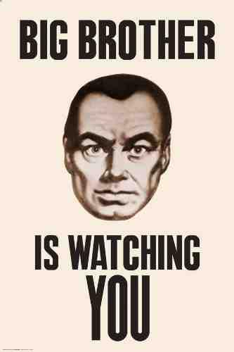 Big Brother libro 1984 George Orwell / mundo digital