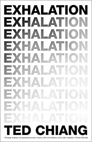 Libro relatos Exhalation Ted Chiang