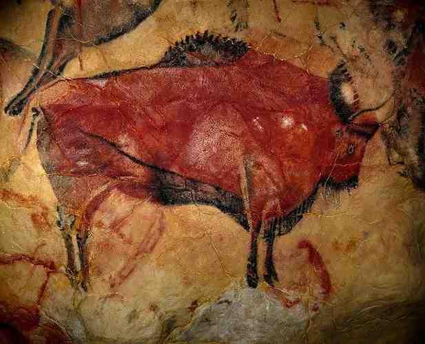 Adaptación gráfica de Sapiens bisonte