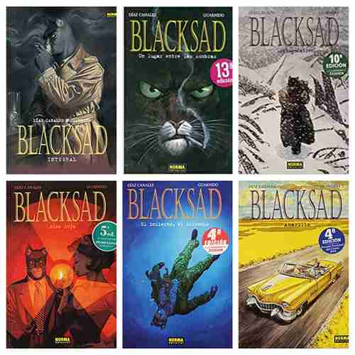 Serie cómics Blacksad