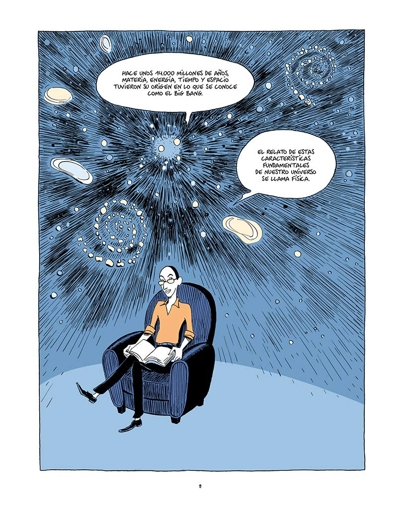 Viñeta comic Sapiens en introducción