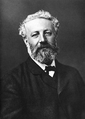 Los quinientos millones de la Begún retrato de Julio Verne
