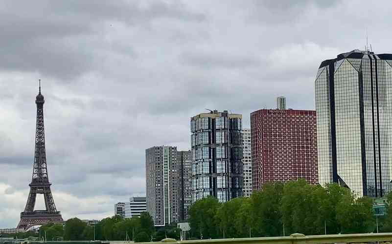 Ravage París y los rascacielos